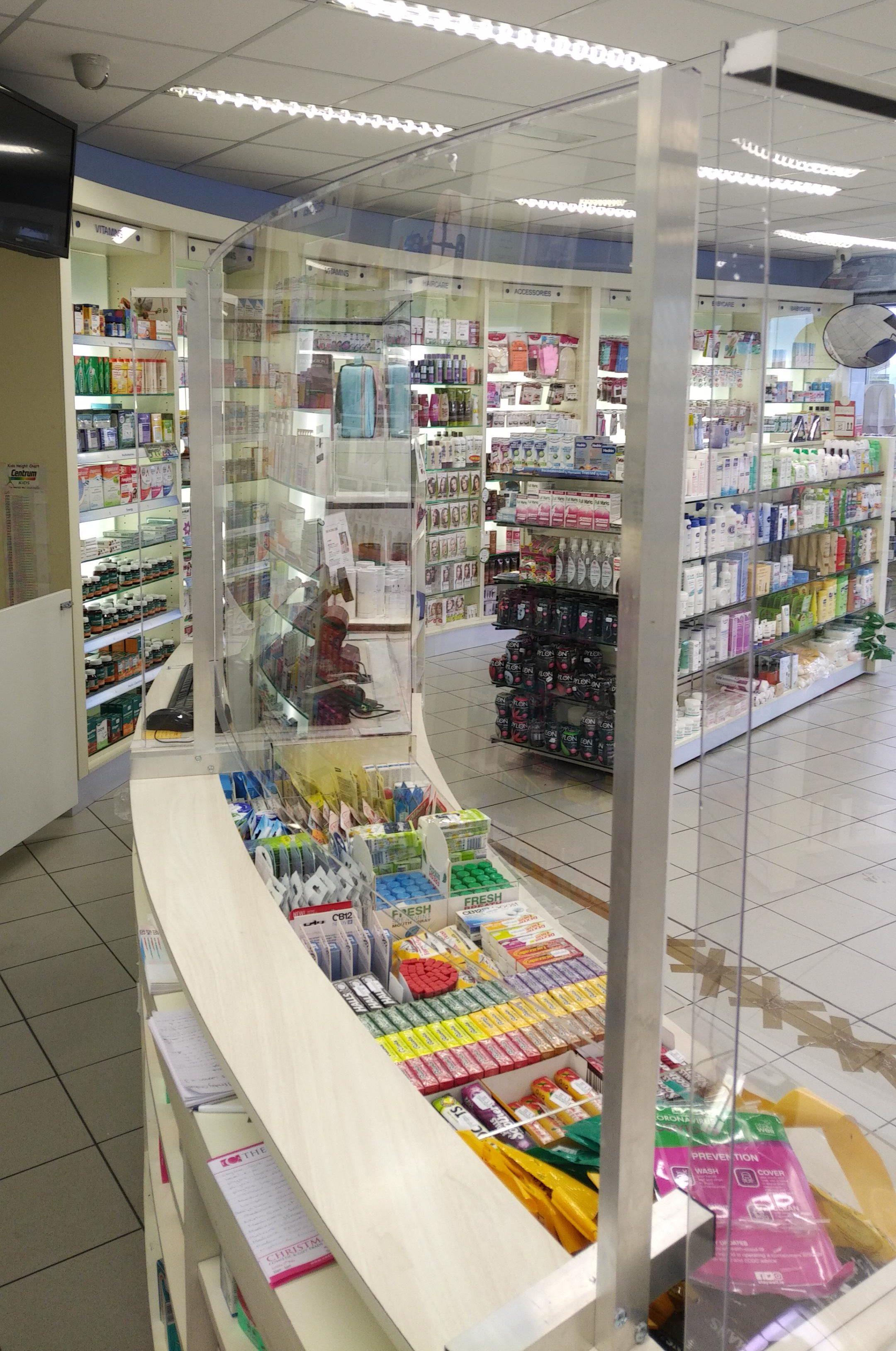 Covid-19 Coronavirus Shop Screens